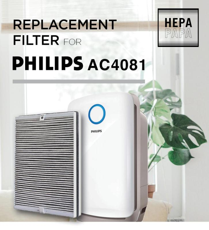Compatible Replacement Composite Filter for Philips AC4081 [Free Alcohol Swab] [SG Seller] [7 Days Warranty] Singapore