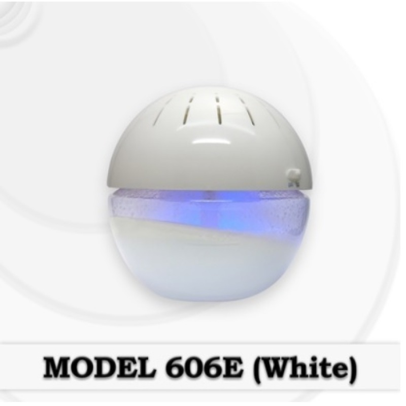 [BNIB] GOOD FOR HOME! Model 606E Water Air Purifier! With Ionizer & switchable Blue Led Lights! 800ml Singapore