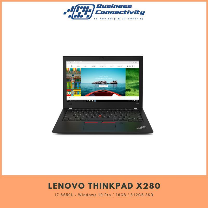 Lenovo Thinkpad X280 i7-8550U / Windows 10 Pro / 16GB / 512GB SSD