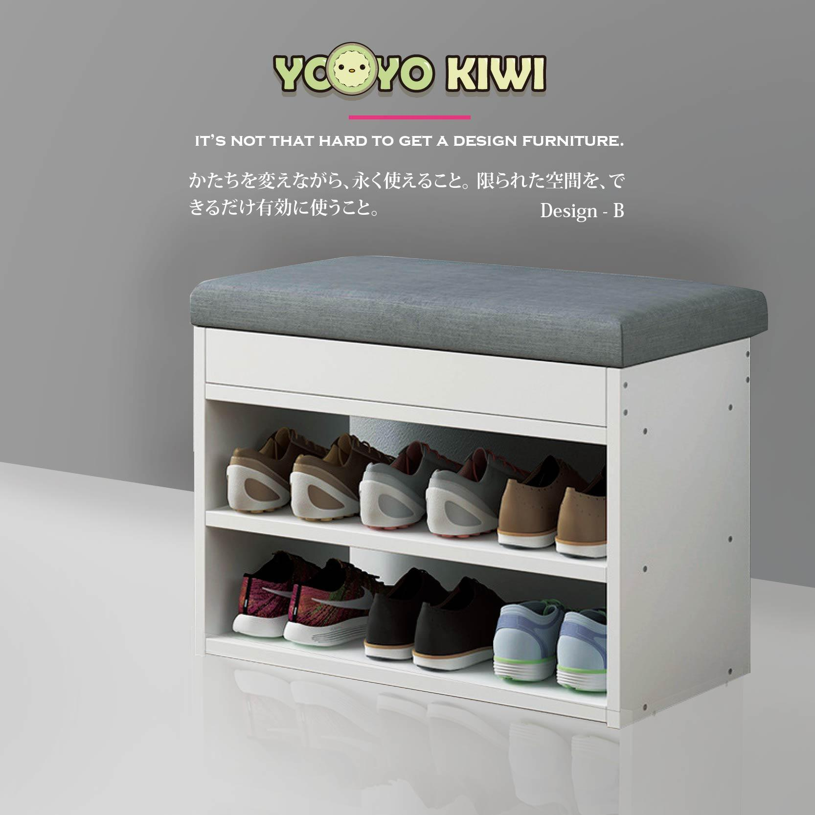 Shoe Rack / Shoe Storage Cabinet/ Shoe Organizer/Wooden Shoes Rack With Seat/Shoe Compartment