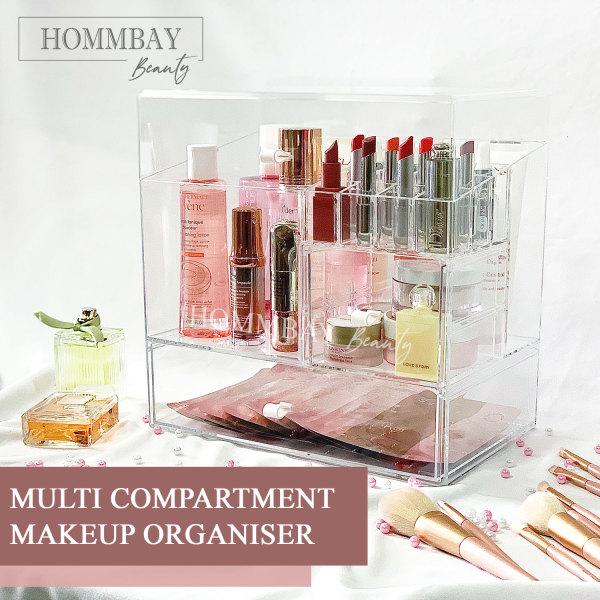 Buy [HOMMBAY Beauty] Makeup Organiser Make Up Organizer Cosmetic Brushes Brush Skincare Storage Display Box Faux Acrylic Singapore