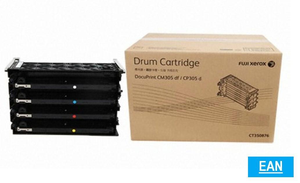 Fuji Xerox Ct350876 Ct-350876 Ct 350876 Drum Cartridge. For Docuprint Cm305df / Cp305d By Ean.