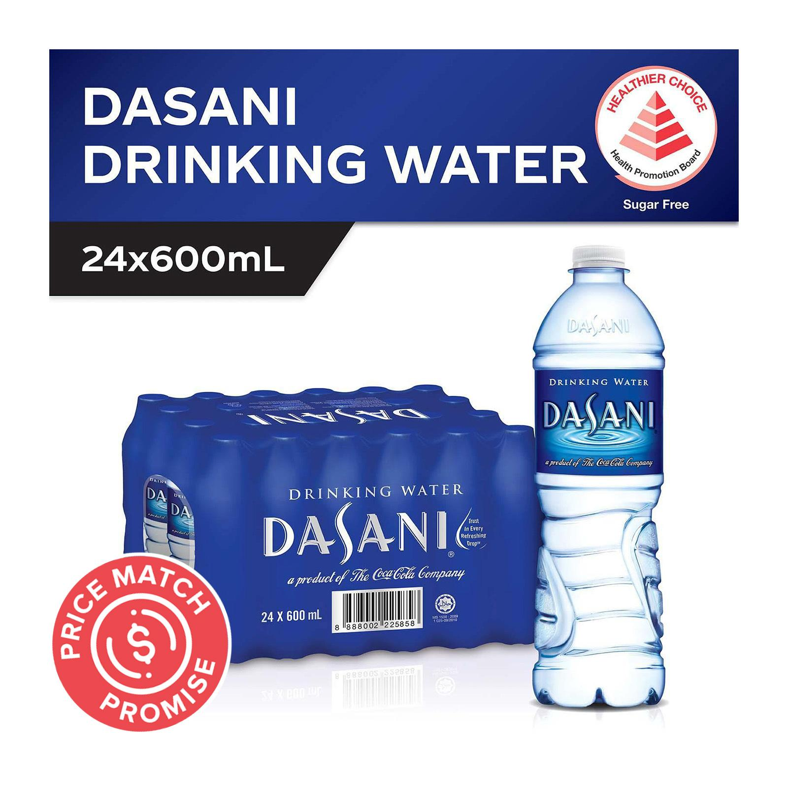 Dasani Drinking Water (24 x 600ml) - Case