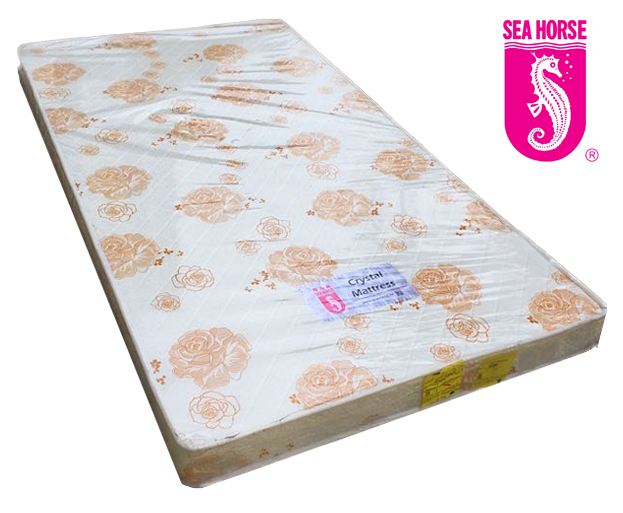 (FurnitureSG) Seahorse Crystal Single Size Mattress (5 or 7 inches)