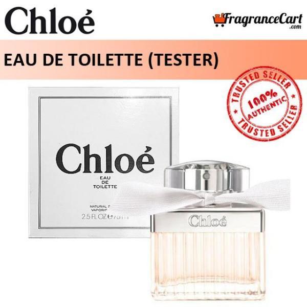 Buy Chloe EDT for Women (75ml Tester) Chloé Eau de Toilette Signature Classic 2015 White Pink [Brand New 100% Authentic Perfume/Fragrance] Singapore