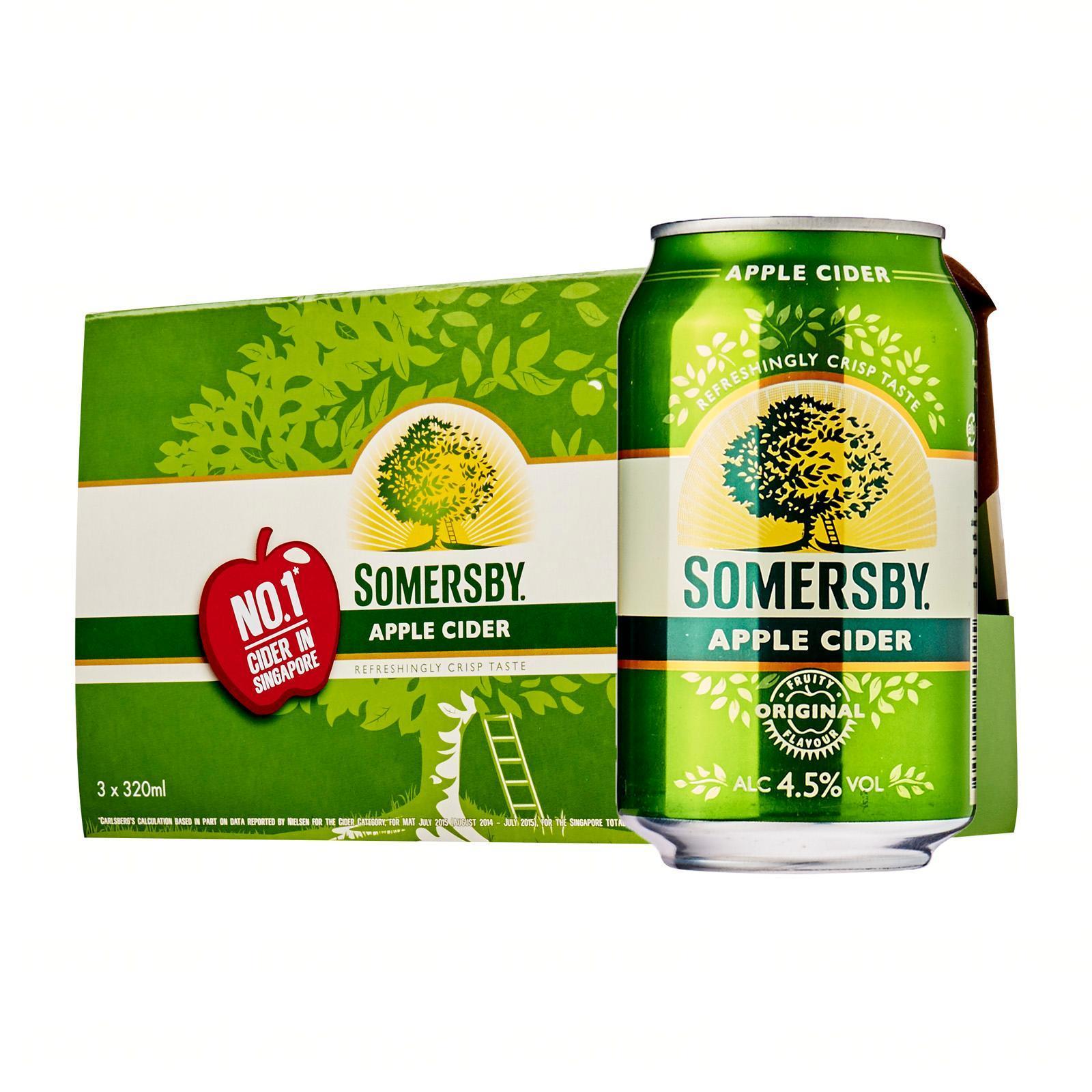 Somersby Apple Cider 3 X 320ml By Redmart.