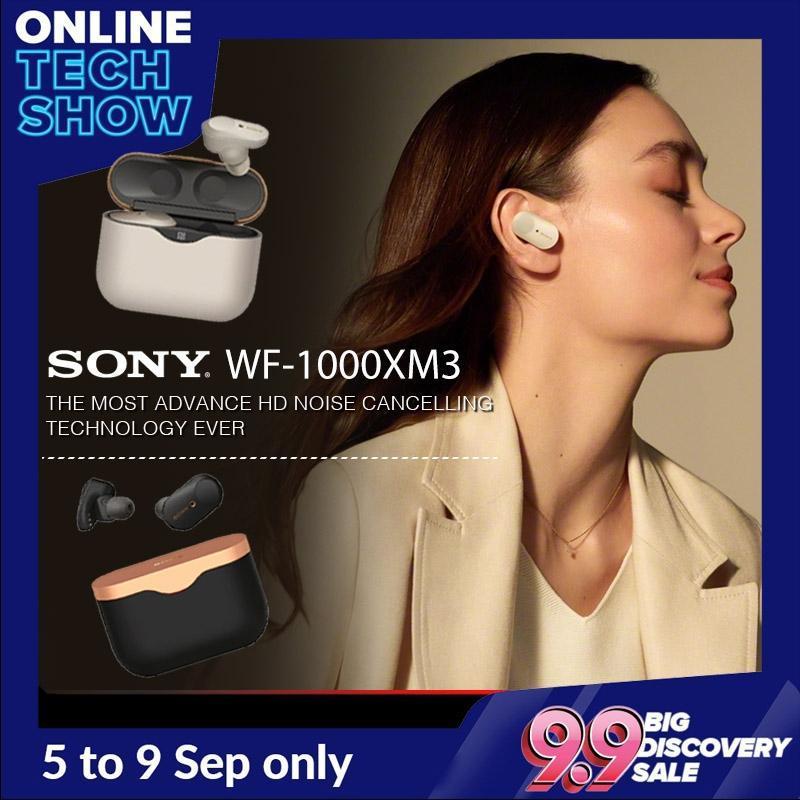 PRE-ORDER ( Release Date 30 Sep )  SONY WF-1000XM3 TRUE WIRELESS NOISE CANCELING EARBUDS WF1000XM3 Singapore