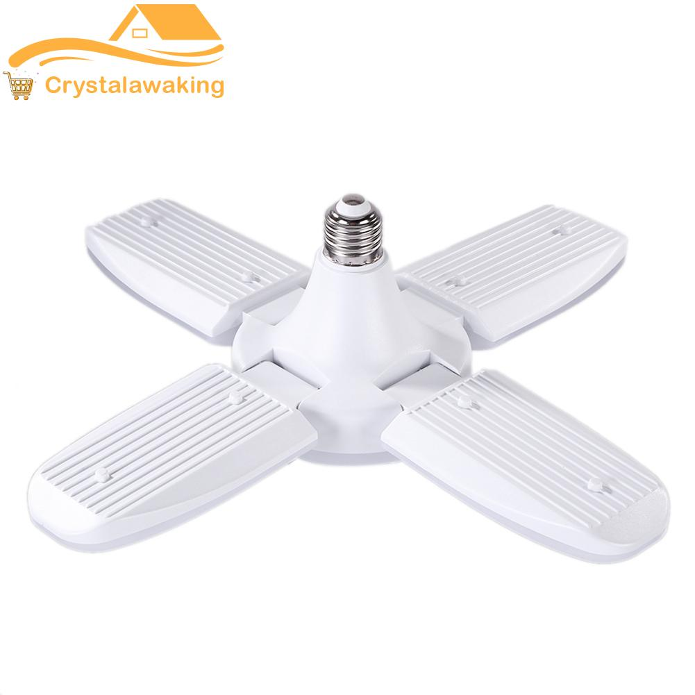 LED Pendant Light Foldable Fans Angle Adjustable Ceiling Lamp Energy Saving