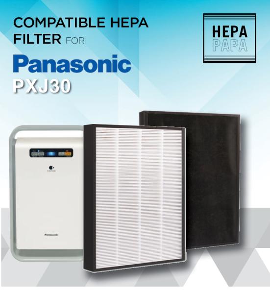 Panasonic PXJ30 / PDJ30 / 30C3PD / F-ZXJP30 Hepa Filter [Free Alcohol Swab] [SG Seller] [7 Days Warranty] Singapore