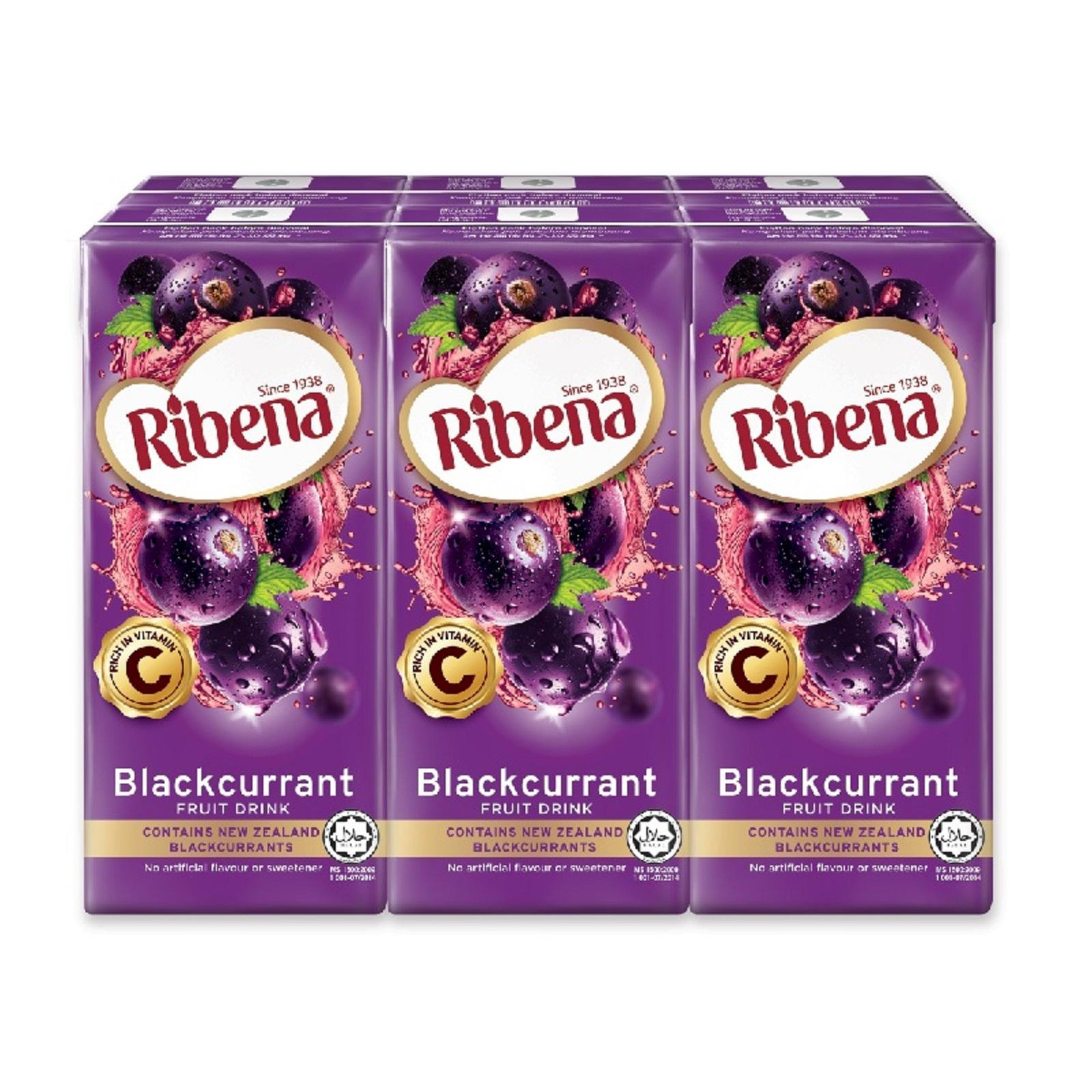 Ribena Blackcurrant And Strawberry Fruit Drink