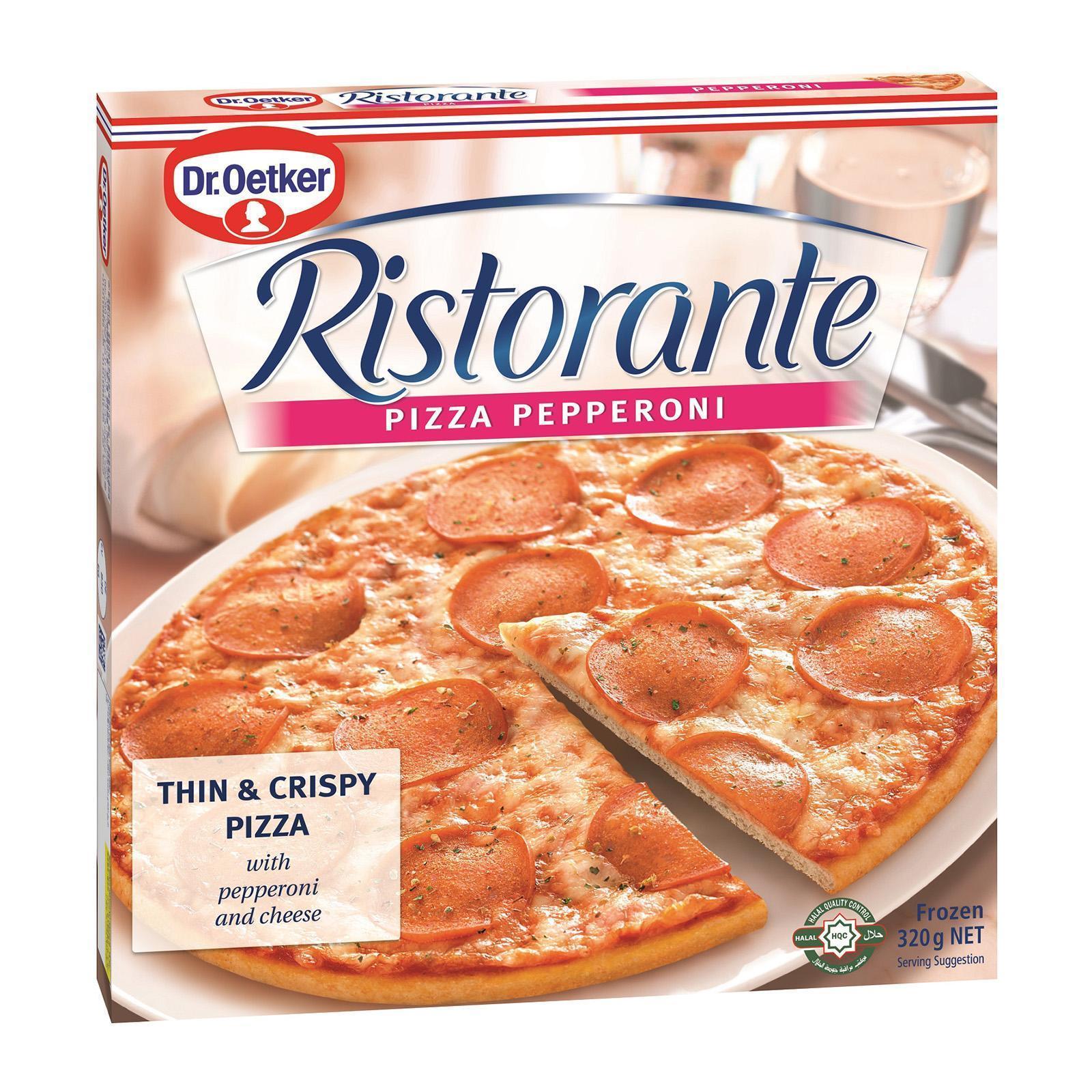 Dr Oetker Ristorante Pepperoni Pizza - Frozen