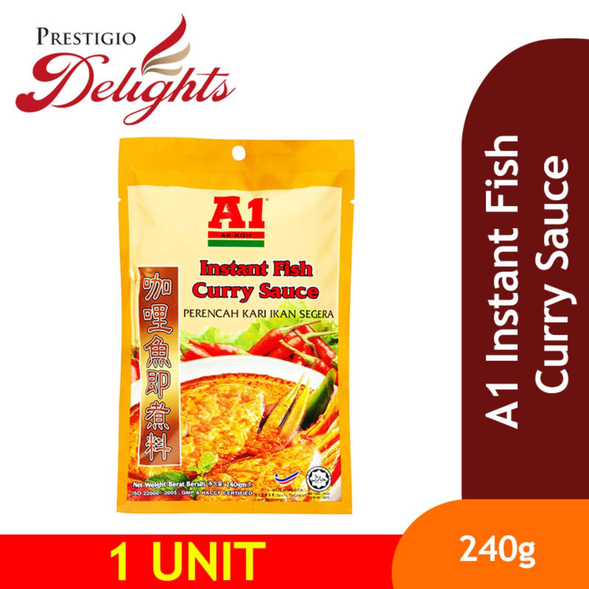 A1 Instant Fish Curry Sauce 240g By Prestigio Delights.