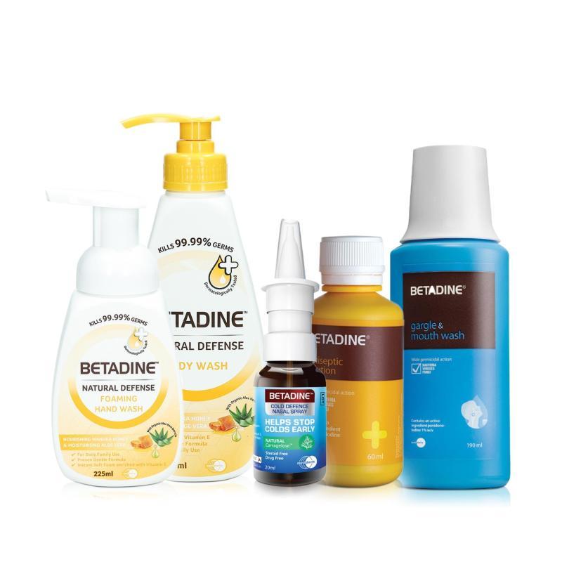 Buy Betadine Home Kit (Manuka Honey Variant) Singapore