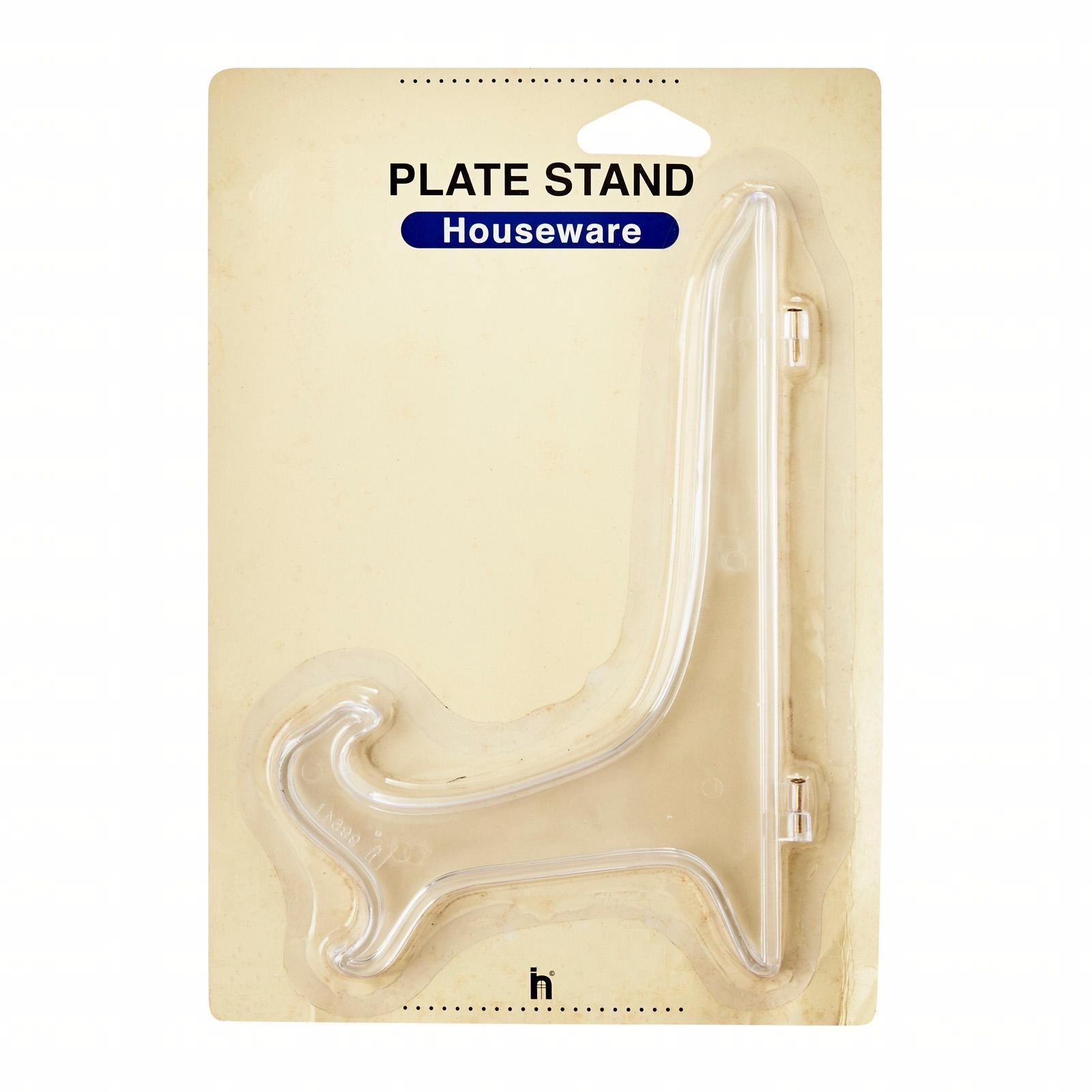 Vesta Plate Display Stand H19Cm (4Pc)