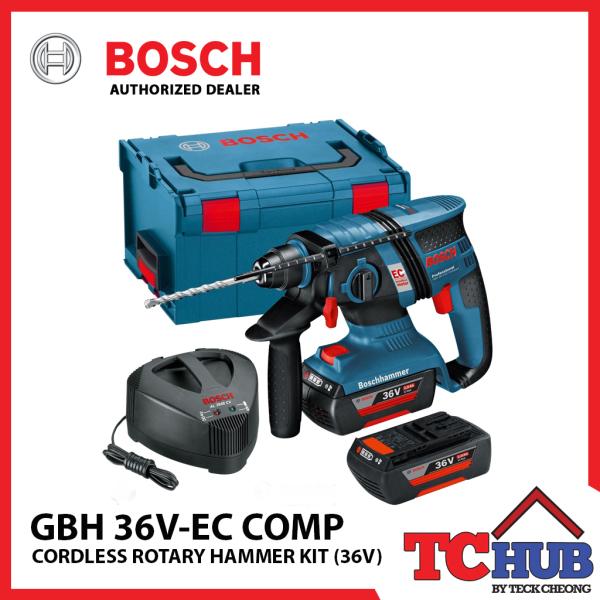 Bosch GBH 36V-EC Rotary Hammer Kit