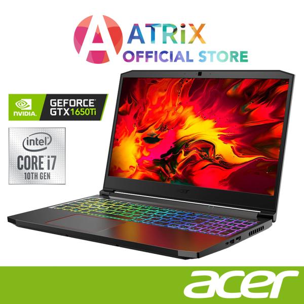 【Same Day Delivery】Acer Nitro 5 AN515-55-72SF | 15.6 FHD 144Hz | GTX 1650TI | Intel Core™ i7-10870H | 16GB DDR4 | 1TB PCIe SSD | 2Y Warranty