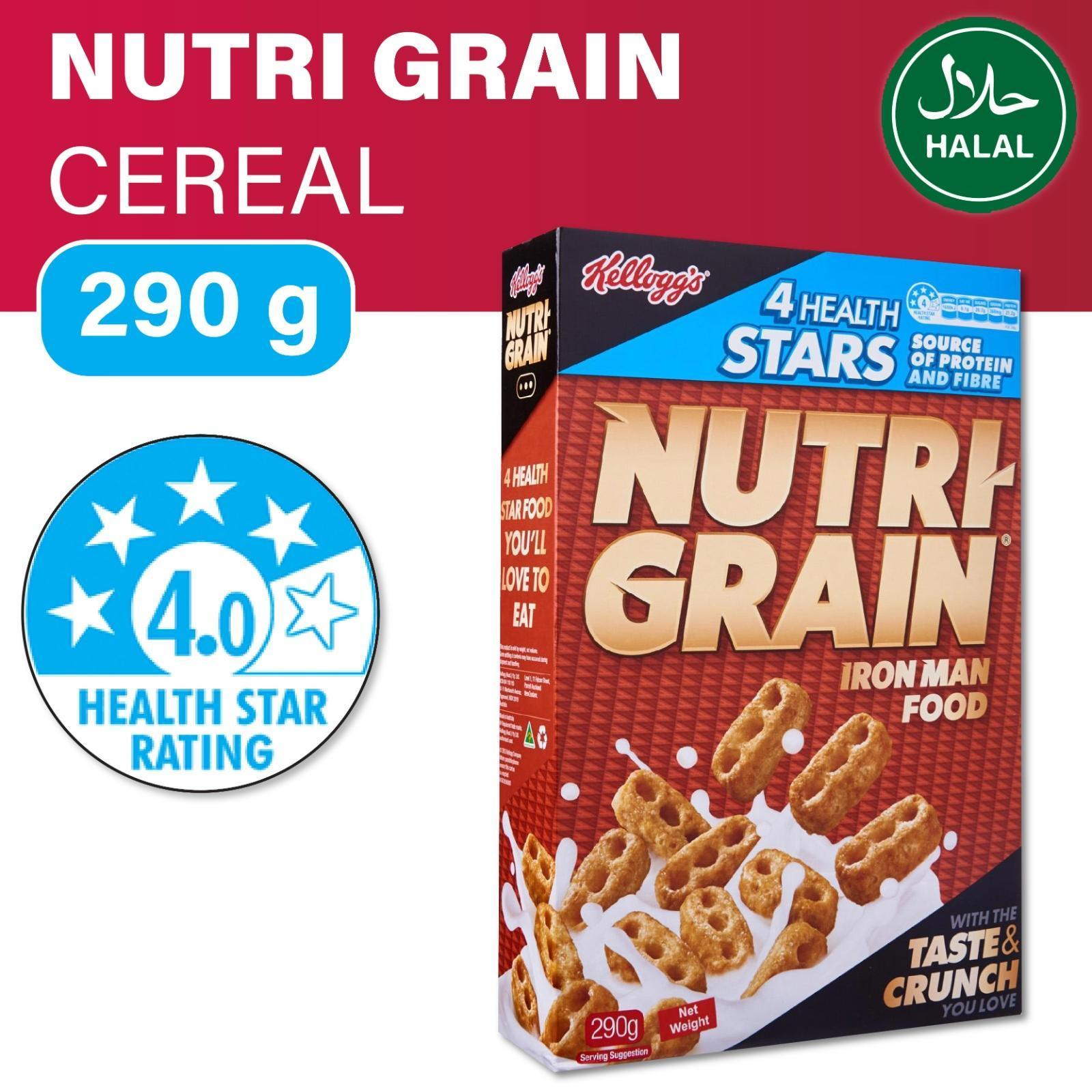 Kellogg's Nutri Grain Iron Man Cereal