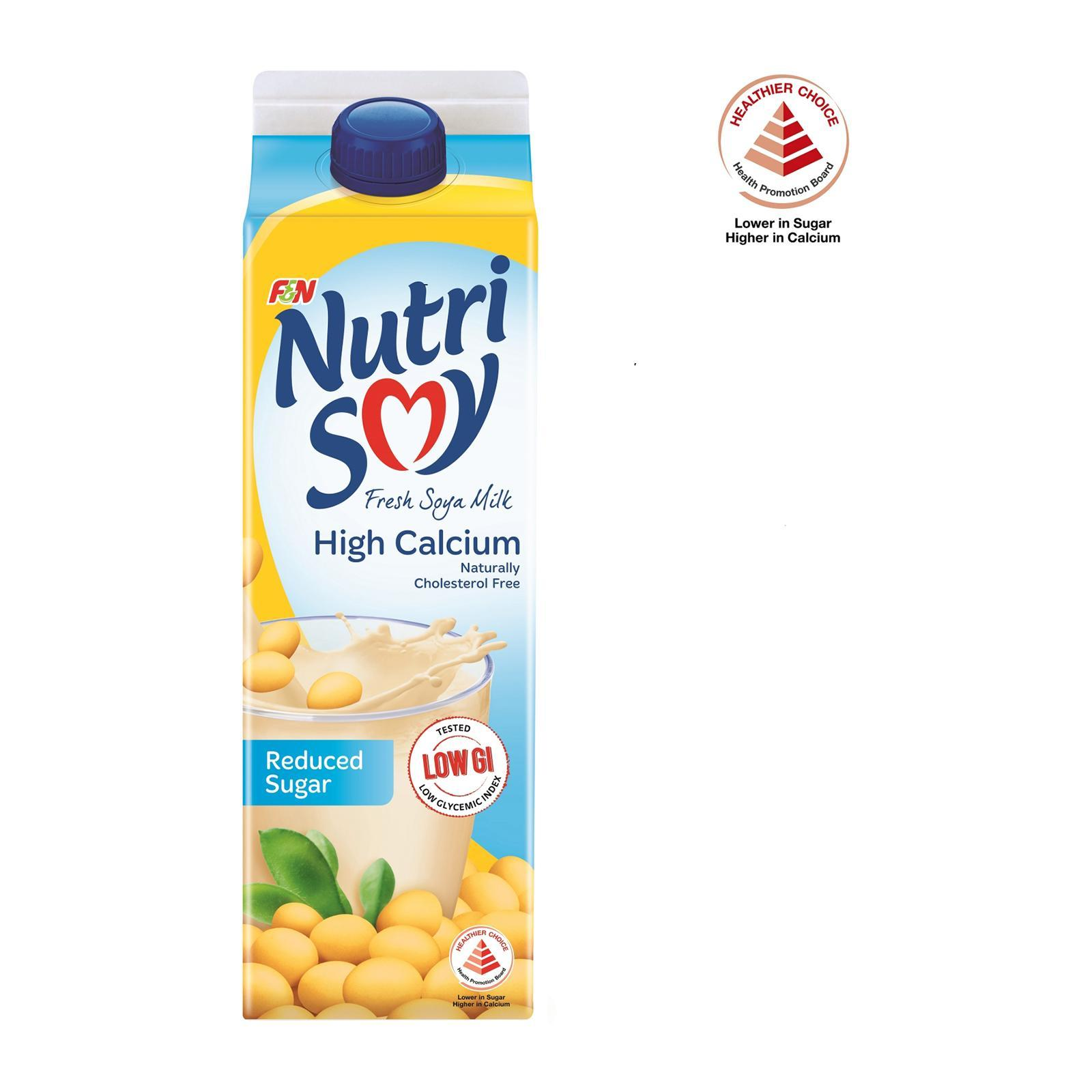 Nutrisoy Fresh Soya Milk - Reduced Sugar