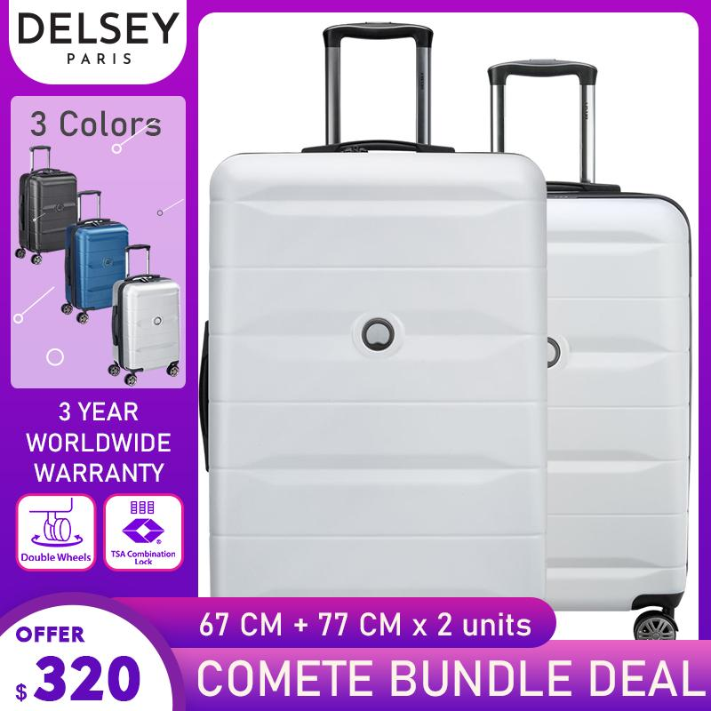 [Bundle Deal] DELSEY Comete 67cm + 77cm 4DW Trolley Case
