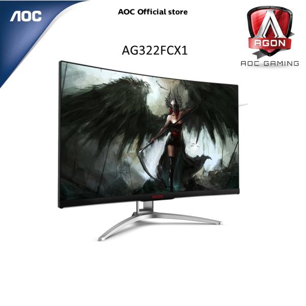 AOC AGON AG322FCX1 31.5 inch Full HD 144Hz 1800R LED Gaming Monitor w/ AMD Freesync AG322FCX1