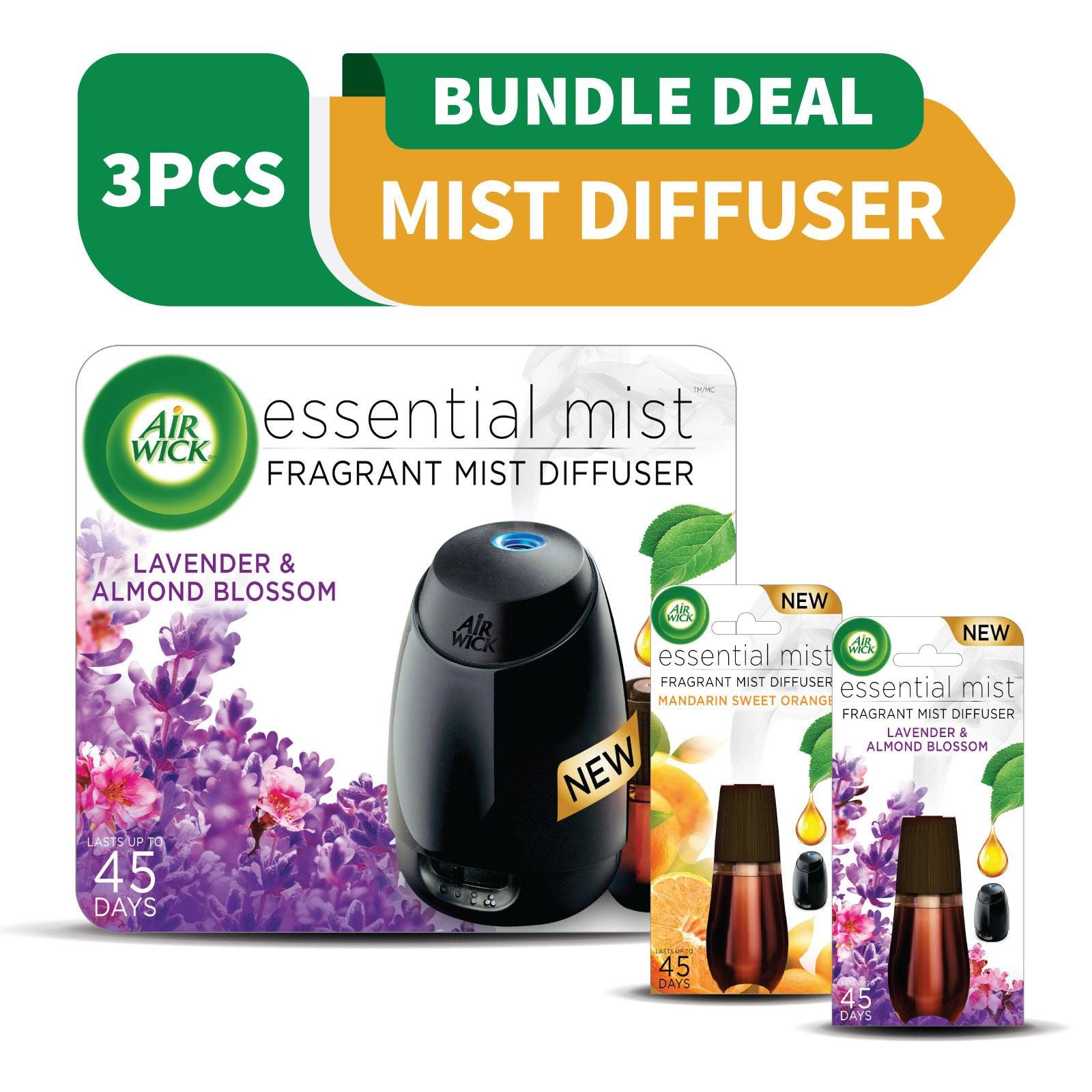 Air Wick Essential Starter + 2x Refills Packs