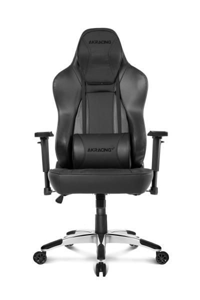 AKRacing Obsidian Ergonomic Gaming Offie Support Chair Free Delivery and Installation with Flat Base Adjustable Armrest Rocking Function 180 Recline Local Stock