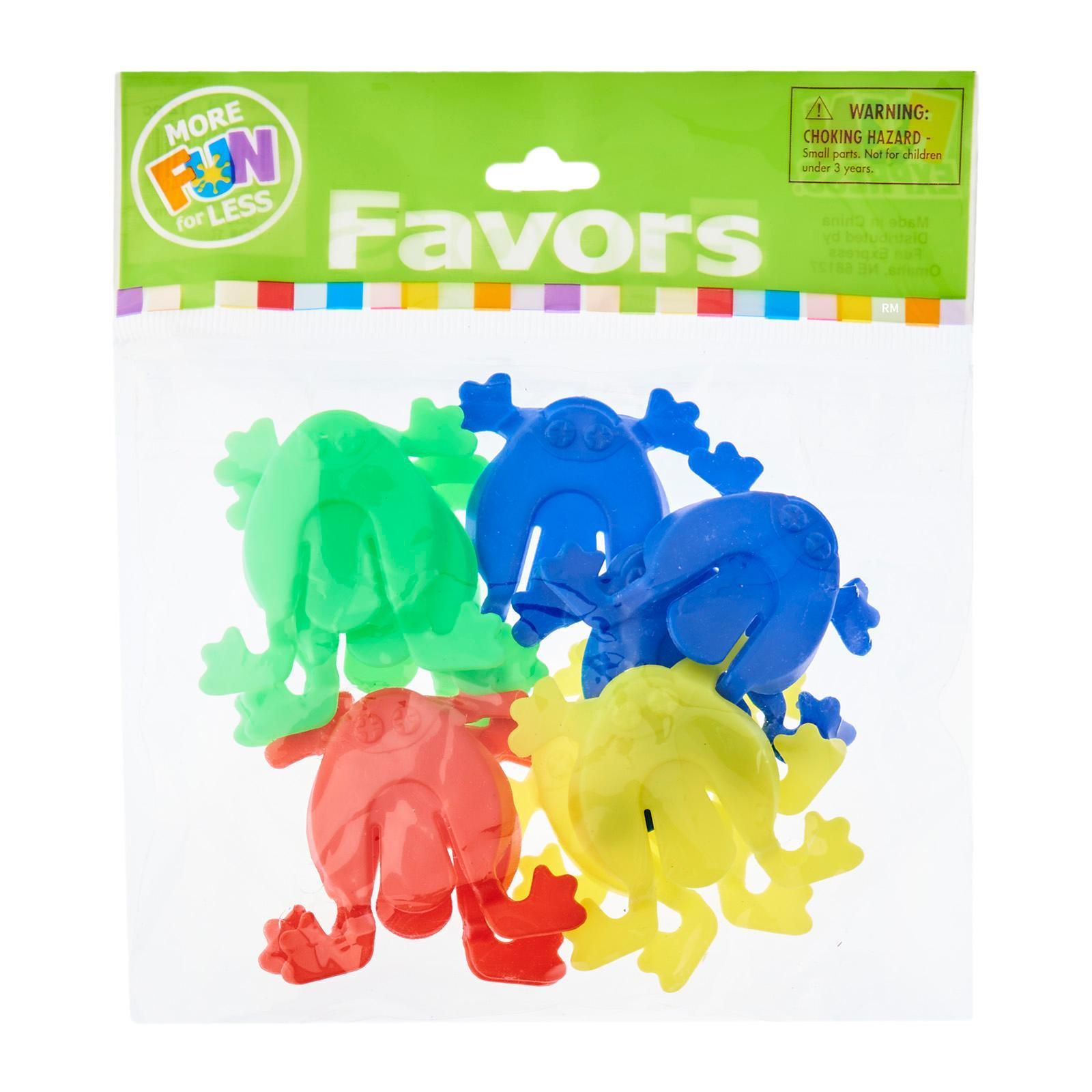 Fun Express Mini Jumping Toy Frogs 12 PCS/Pack Party Favor