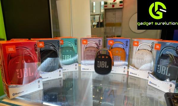 JBL Clip 4 Ultra-Portable Bluetooth Waterproof Speaker (1 YEAR warranty) Singapore