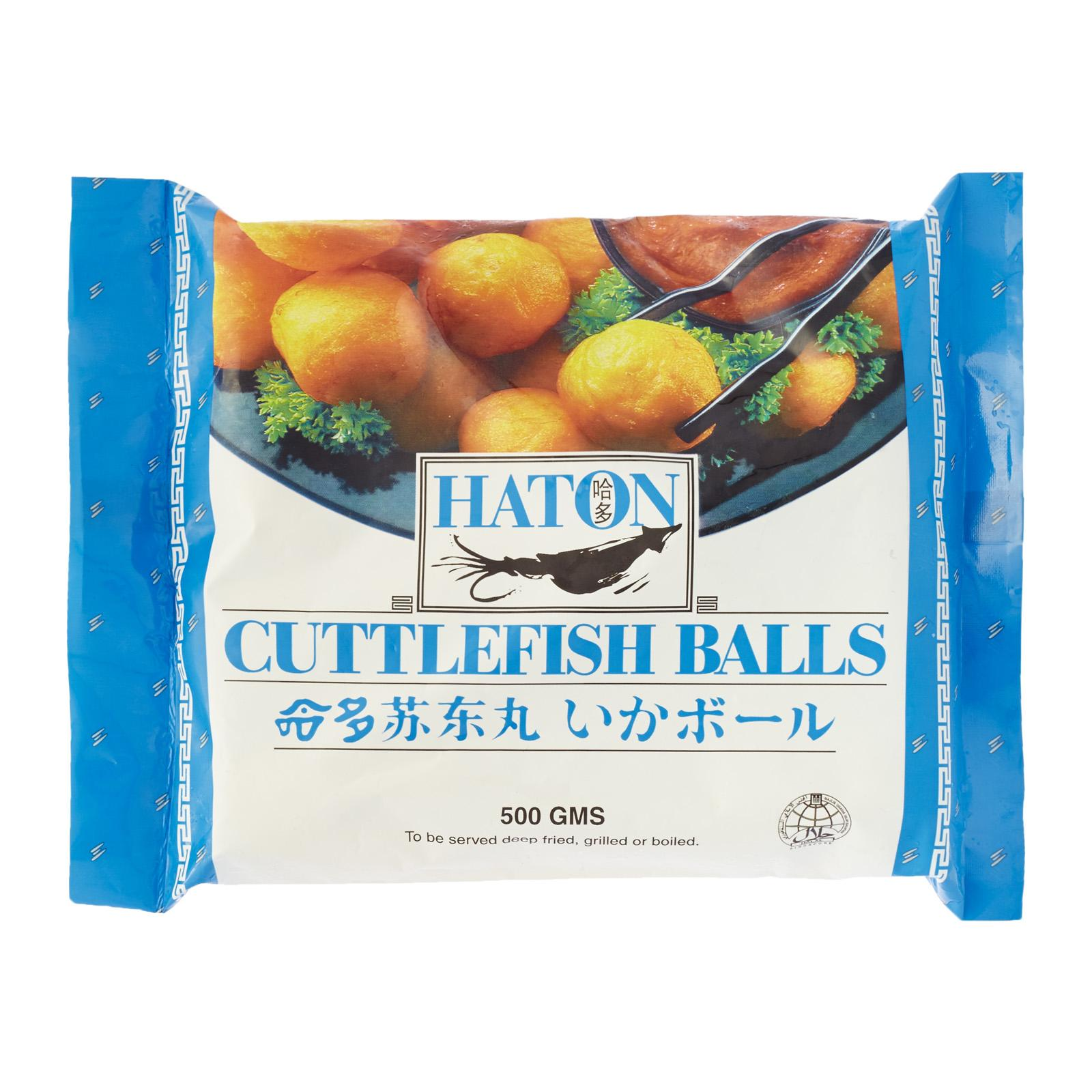 Haton Cuttlefish Ball - Frozen