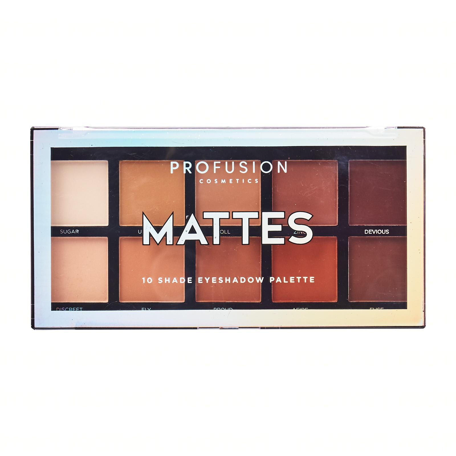 Profusion Cosmetics Mattes Eyeshadow Palette