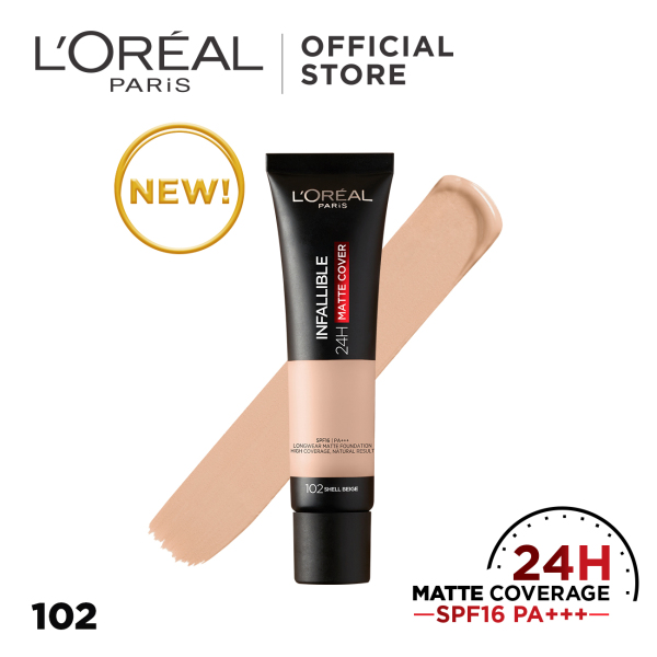 Buy LOreal Paris Infallible 24H Matte Cover Foundation Singapore