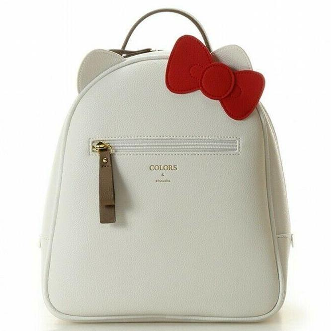 Colors & chouette ( Formerly Jennifer Sky ) X Hello Kitty pebbled faux leather mini backpack