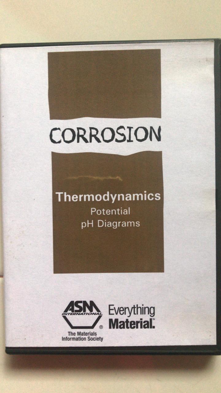 Corrosion - Thermodynamics Potential pH Diagrams