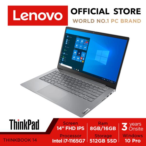 Lenovo ThinkBook 14 Gen 2 | 20VD005HSB | 14 FHD (1920x1080) | Iris Xe | Intel Core i7-1165G7 | 8GB DDR4-3200 | 512GB SSD | Win10 Pro | 3Y Onsite Warranty