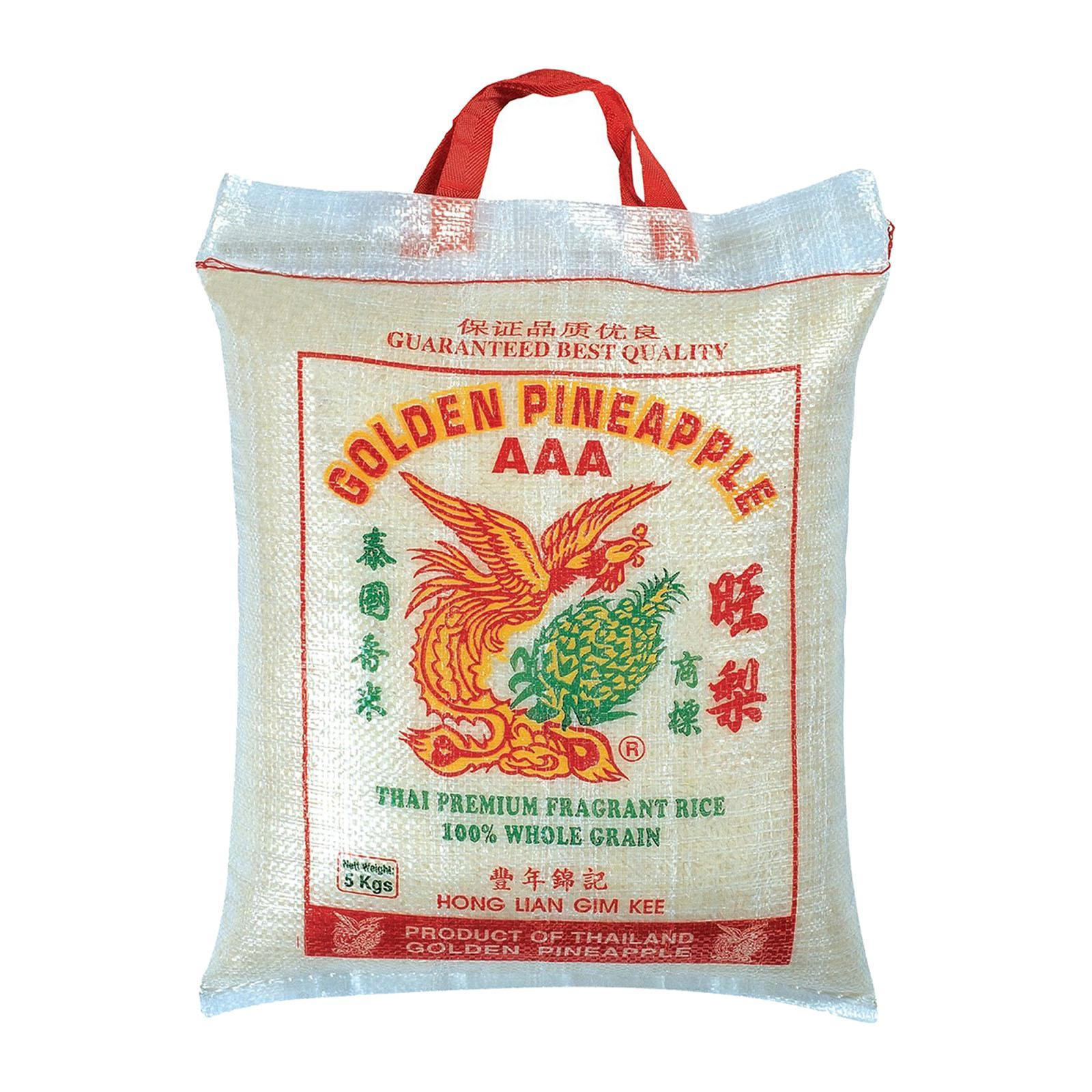 Golden Pineapple Aaa Thai Premium Fragrant Rice By Redmart.