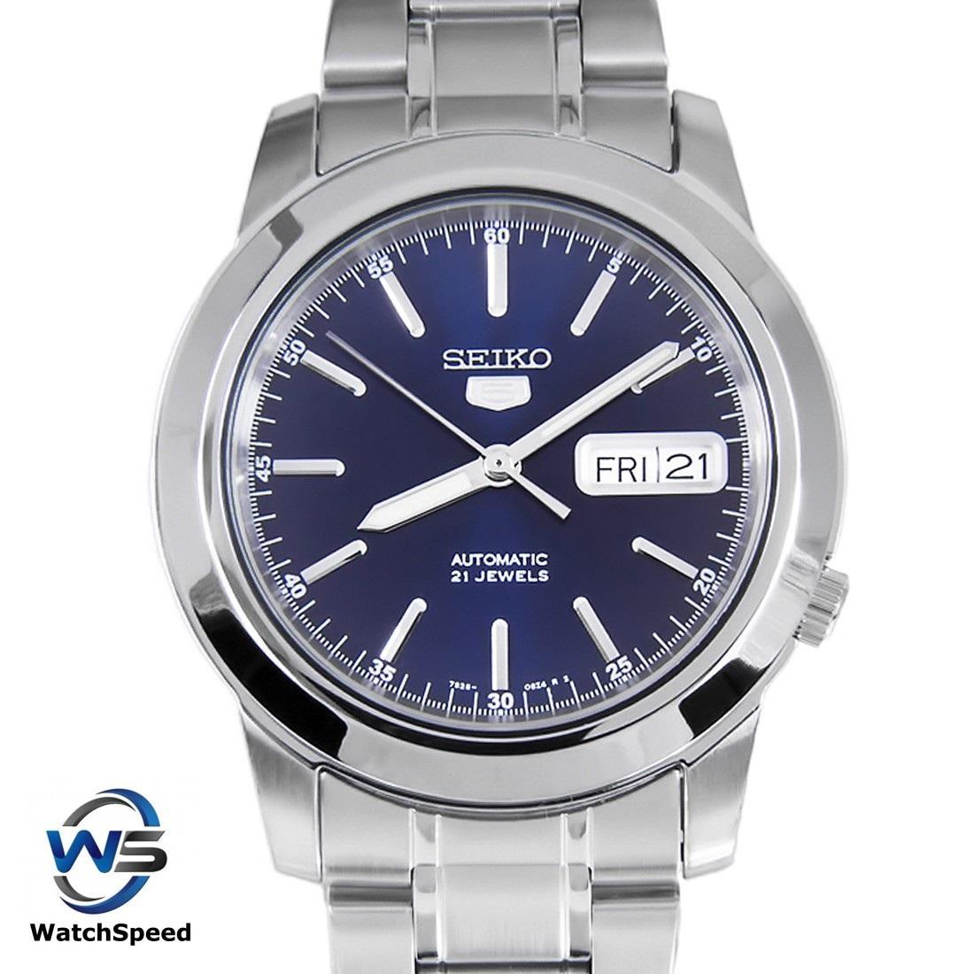 Seiko 5 SNKE51K1 SNKE51K SNKE51 Automatic Blue Dial Stainless Steel Men's  Watch