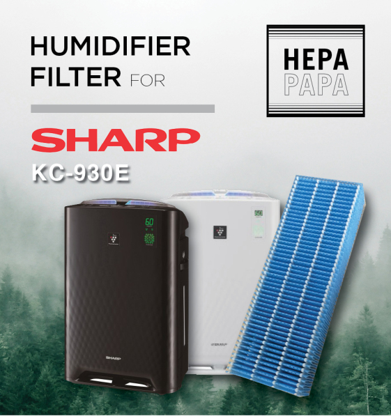 Sharp KC-930E FZ-Y30MFE Compatible Humidifier Filter Only [Free Alcohol Swab] [SG Seller] [7 Days Warranty] [HEPAPAPA] Singapore