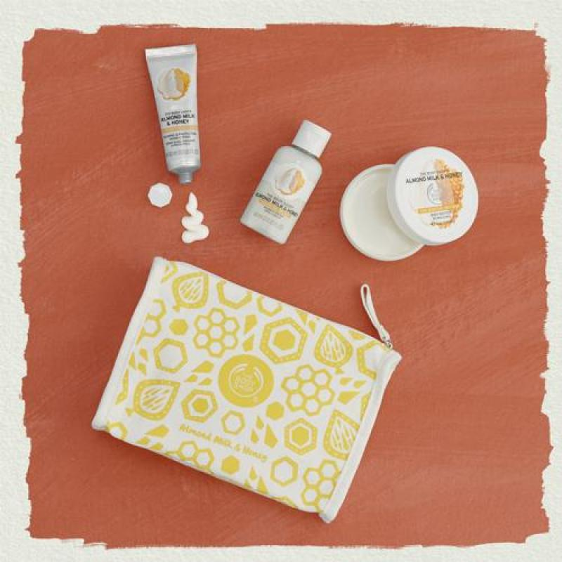Buy The Body Shop Soothing Almond Milk & Honey Delights Bag Singapore