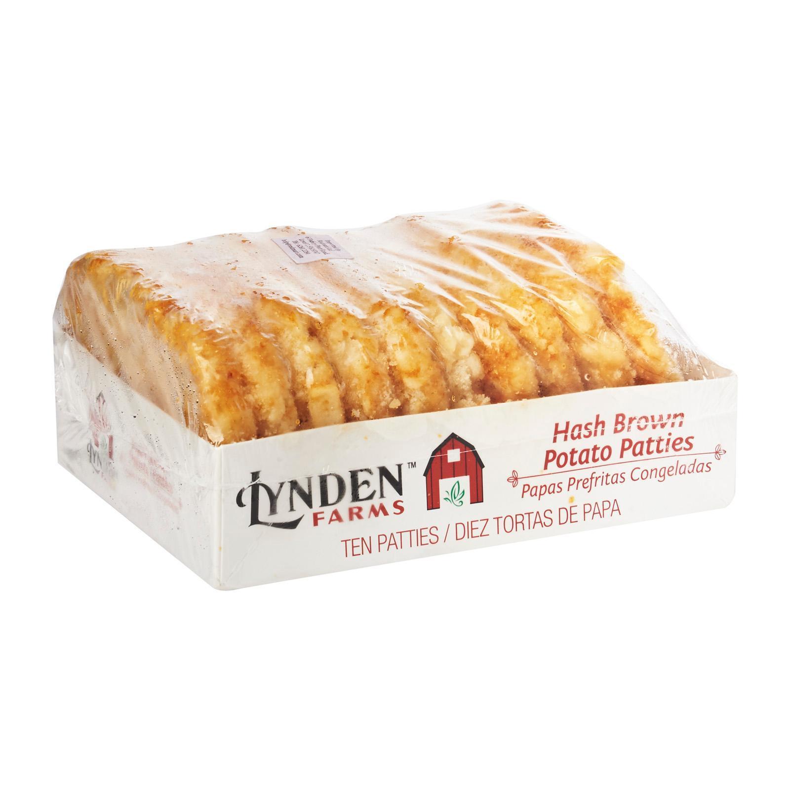 Lynden Farms Hash Brown Potato Patties - Frozen