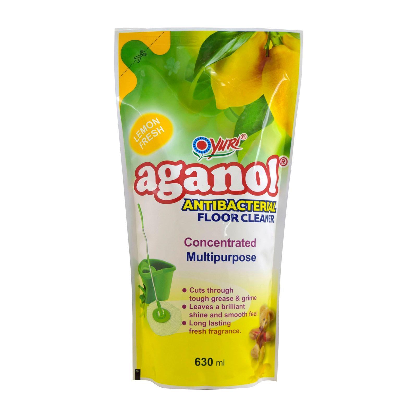 Yuri Aganol Antibacterial Multipurpose Floor Cleaner Refill Lemon Fresh