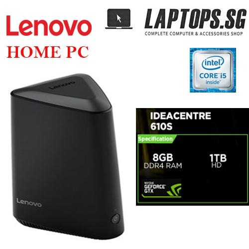 LENOVO Powerful and compact Home PC  Intel i5 -6400T(6M Cache,up to 2.8 GHz) 8GB DDR4 RAM / 1TB HDD / Nvidia Geforce GTX750Ti ddr5 2gb Graphics / Windows 10 Home / 1 yr onsite warranty