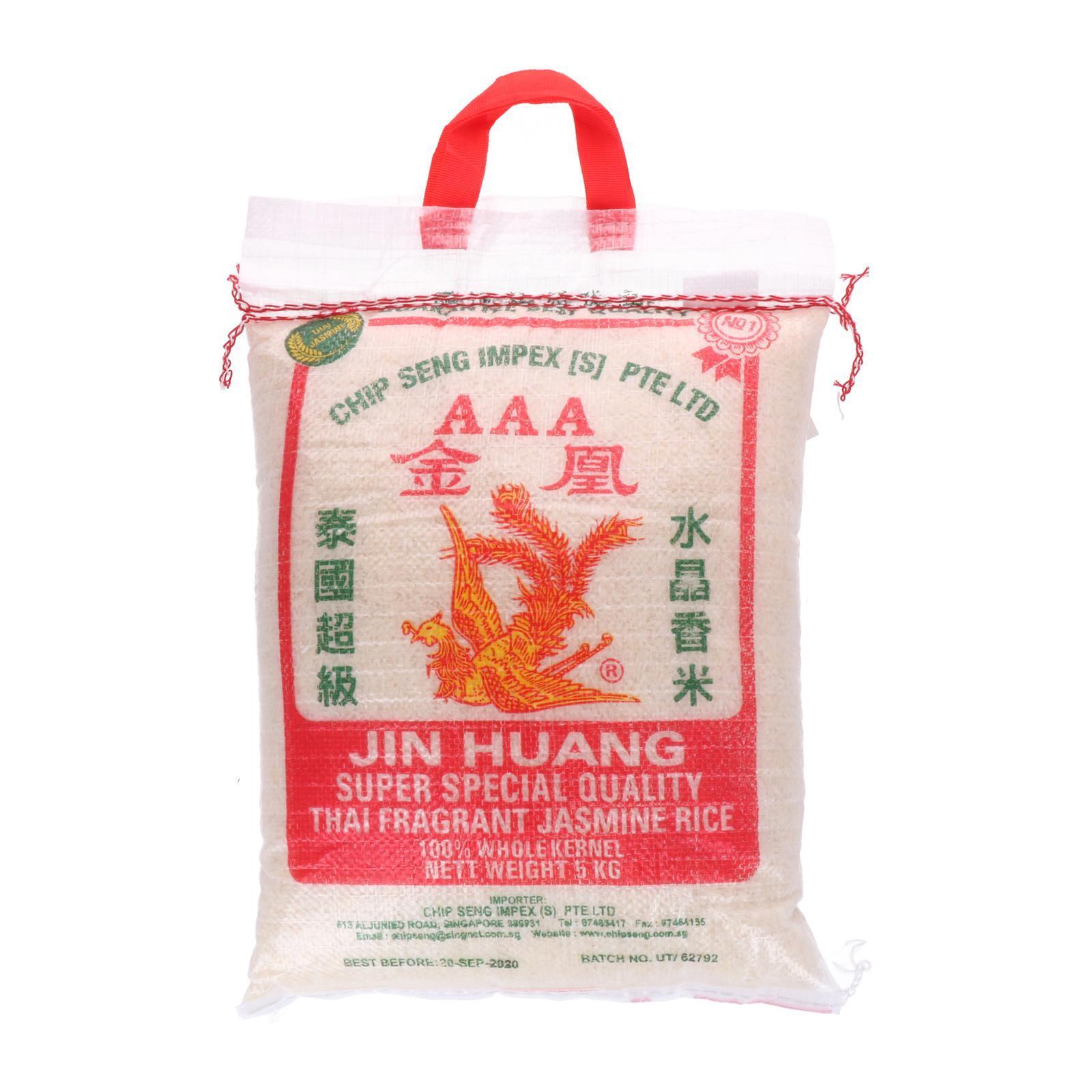 Jin Huang Thai Fragrant Rice - By Chip Seng Impex