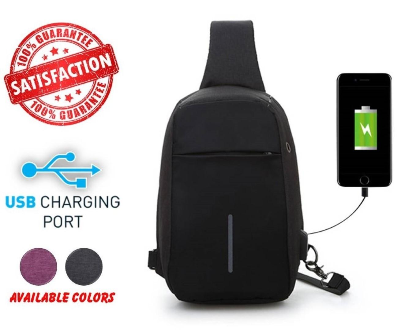f5a12426bd Anti Theft Bag - Anti-Theft Shoulder Bag Travel Small Backpack with USB  Charging Crossbody