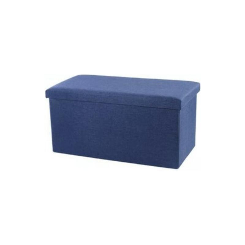 Foldable Storage Bench (80L) for Office Home Bedroom Shoe Bench Ottoman