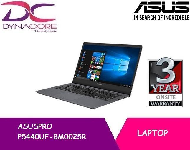 ASUSPRO P5440UF-BM0025R (Grey) I7-8550U, 8GB,14 Inch FHD, 512GB PCIE SSD+TPM Win 10 Pro