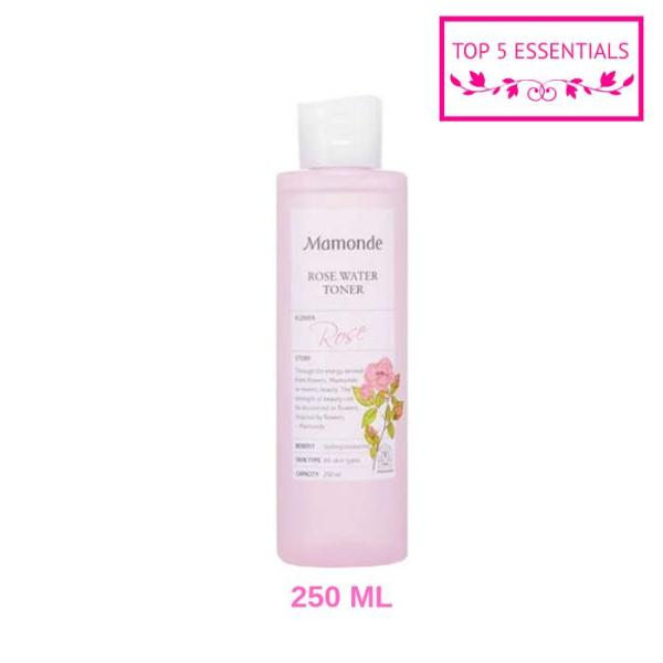 Buy FREE SHIPPING! Mamonde Rose Water Toner 250ML Singapore