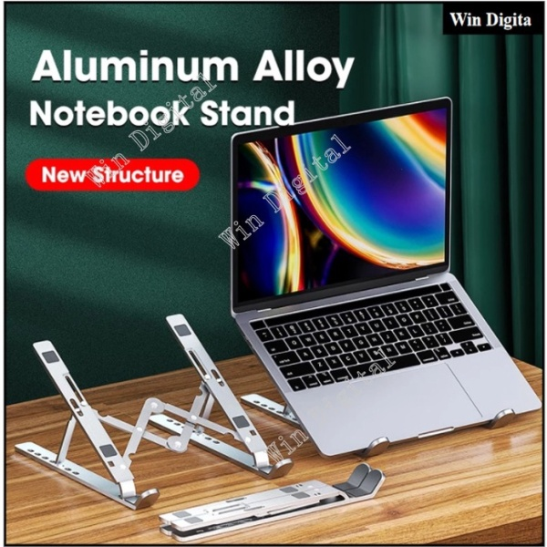Creative New Laptop Stand Lifting and Foldable Portable Desktop Stand Computer Cooling Rack 11 - 15.6 inch Laptop & Tablet