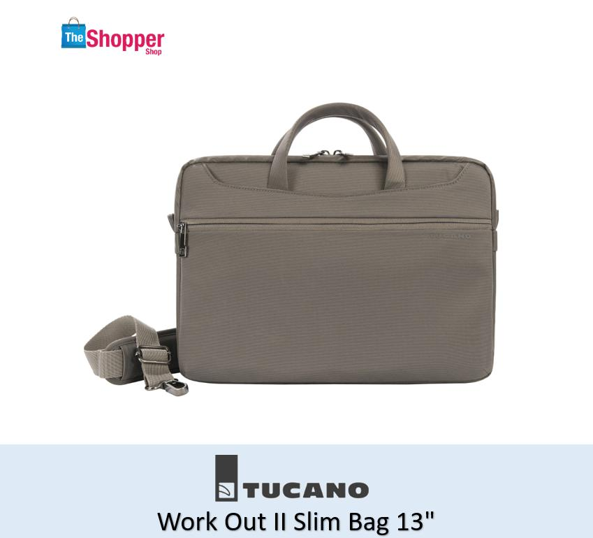 Tucano Work Out II Slim Bag 13 (Grey)