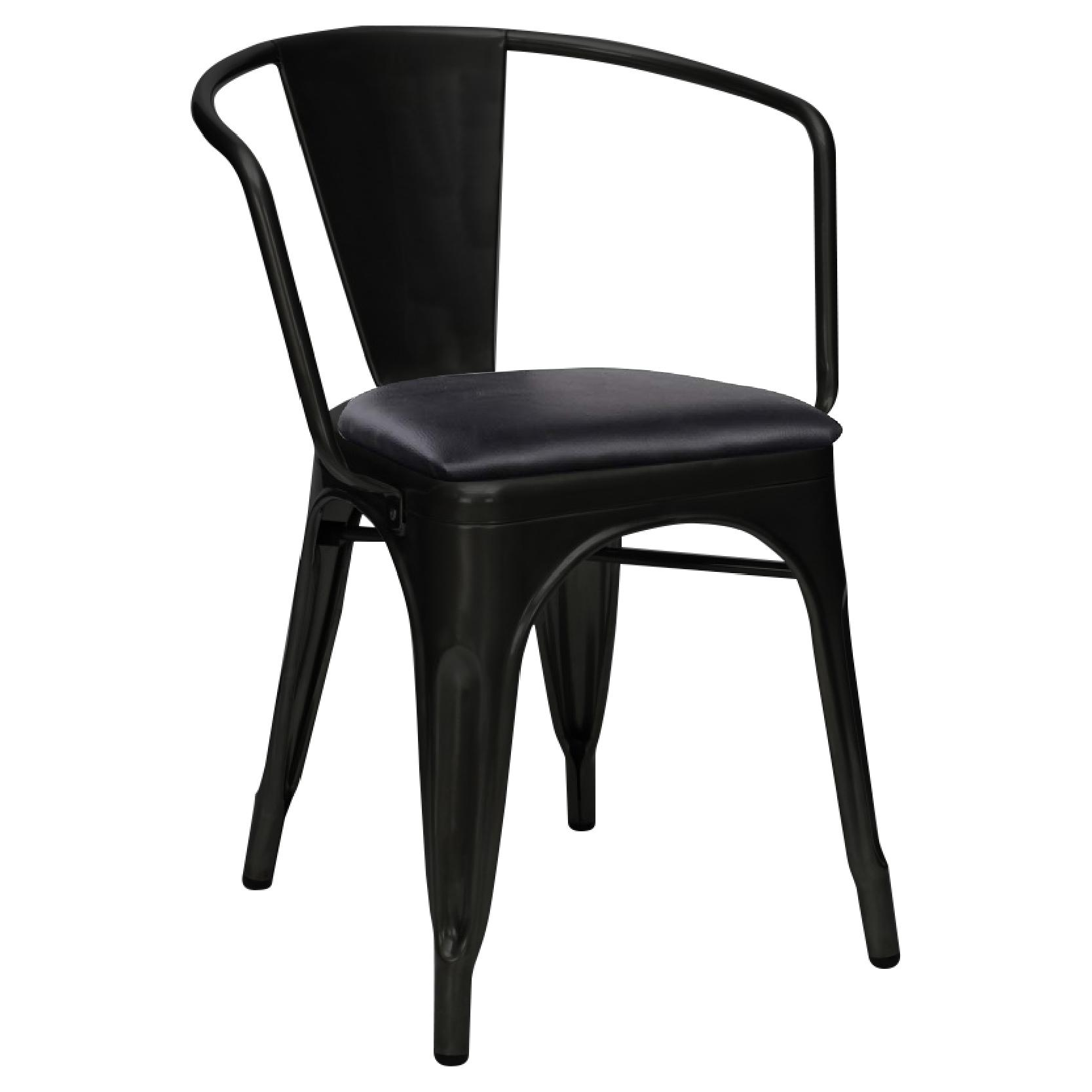 JIJI Tulox Chair 45cm With Cushion (Free Installation) - Designer chairs / Dining Chair / Metal Frame chair / Chrome Chair / 12 Month Warranty (SG)