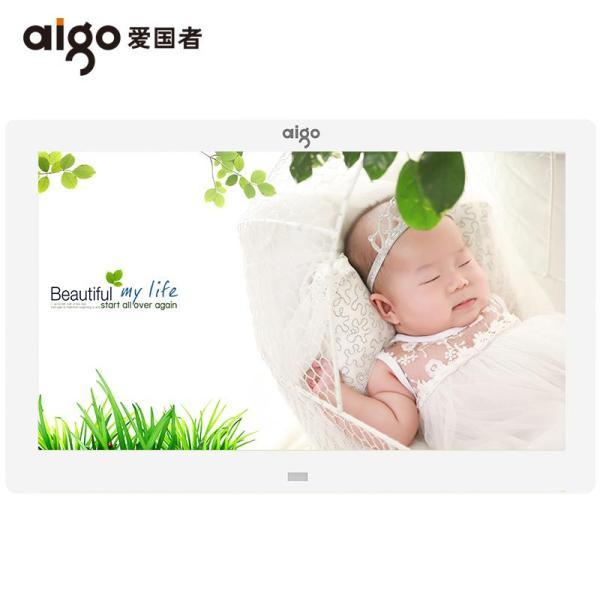 Aigo/ Aigo Digital Frame DPF81 Electronic Album Frame HD Player Music Video Gift
